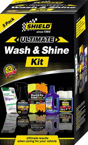 Shield Since 1964 Ultimate Wash & Shine Kit