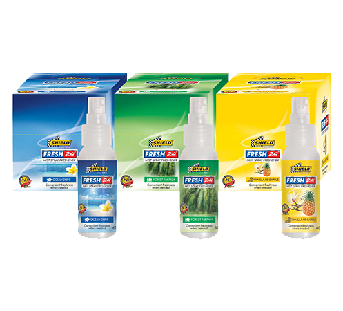 Shield Since 1964 | Fresh 24 Mist Car Air Freshener
